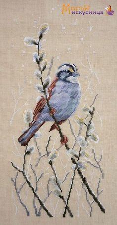 Cross Stitch Needles, Cross Stitch Bird, Cross Stitch Borders, Counted Cross Stitch Kits, Cross Stitching, Cross Stitch Embroidery, Cross Stitch Patterns Free Easy, Cross Patterns, Bird Patterns