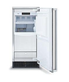 "15"" Undercounter Freestanding Ice Machine with Drain Pump - FPIM - Viking Range Corporation - another dream kitchen item"
