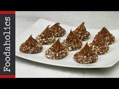 Σοκολατάκια κατσαρόλας Nutella | Foodaholics - YouTube Nutella, Chocolate Caramels, Greek Recipes, Sweets, Candy, Cookies, Meat, Desserts, Chocolates