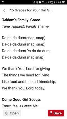 Addams family grace