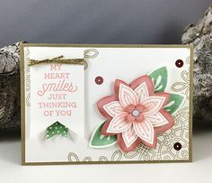 stampin up friends and flowers 1