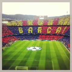 4. Then, you can head towards the FC Barcelona stadium & museum, one of the city's most popular visitor attractions.