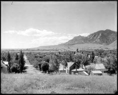 Boulder Colorado ~ 1900