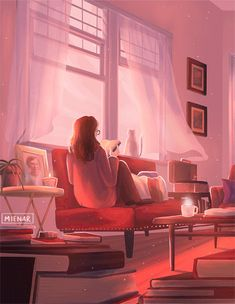 Animated gif discovered by Mabia. Find images and videos about girl, beautiful and gif on We Heart It - the app to get lost in what you love. Girl Cartoon, Cartoon Art, Pix Art, Animated Love Images, Animated Gif, Anime Scenery Wallpaper, Beautiful Gif, Animation, Aesthetic Gif