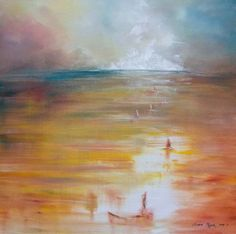 """""""Searching Sails"""" By Melanie Meyer.  Sold from her - Emergence Art Gallery - in Cape Town, to a collector in South Africa"""