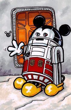 R2-D2 Mickey. Lol!
