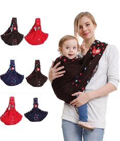 Premium Baby/Toddler/Newborn Cradle Pouch Sling Carrier With Stretch Wrap Front For Discreet Feeding //Price: $42.95 & FREE Shipping //     #hashtag1