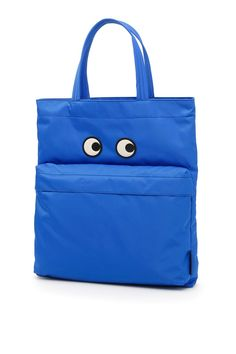 ANYA HINDMARCH . #anyahindmarch #bags #leather #hand bags #nylon #tote #lining #