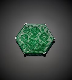 Taj Mahal Emerald Object Name: Emerald Medium: Emerald Dimensions: Height: 1 5/8 in. (4.1 cm) Width: 2 1/8 in. (5.4 cm) 141.13 ct Classification: Gems Credit Line: The Al-Thani Collection