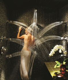 swiss-shower. oh my gosh!!!! lovely!!!!!