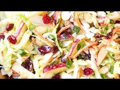 Ensalada Navideña de piña y Manzanas - YouTube