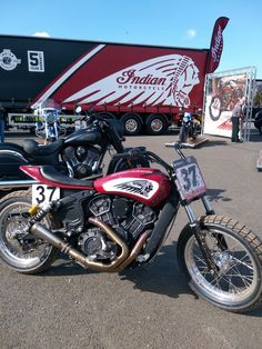 Indian Scout #DTRA Hooligan race bike