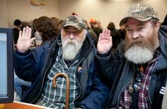 larry duncan and randell shepherd apply for a marriage license in seattle (photo by meryl schenker)