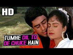 Tumhe Dil To De Chuke Hain   Kumar Sanu, Kavita Krishnamurthy   Mashooq 1992 Songs   Ayesha Jhulka - YouTube Ayesha Jhulka, Kumar Sanu, Video Full, Lead Role, White Man, Movie Stars, All About Time, Youtube, Singing