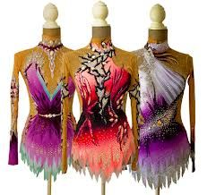 rhythmic gymnastics leotards white - Google Search