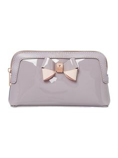 Rosamm grey small cosmetic bag