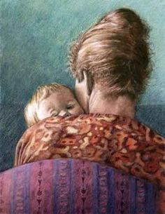 Mother and child ~ artist unknown Mother Art, Mother And Child, Artists For Kids, Art For Kids, Mums The Word, Supportive Friends, Life Is A Gift, Baby Mine, A Child Is Born