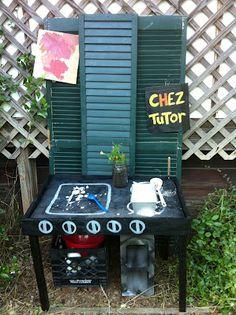 outdoor play kitchen