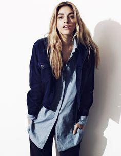 MihJeans01 Naomi Preizler Stars in MiH Jeans Pre Fall 2012 Campaign by Oskar Gyllenswärd