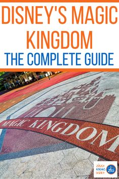 """Also known as """"The Happiest Place on Earth,"""" Disney's Magic Kingdom Park at the Walt Disney World Resort is one of the most visited places on Earth and for good reason. It's where all your dreams come true and the most famous theme park in the world. Ziggy Knows Disney has the complete guide for making your plans. #disney #disneyworld #disneyplanning #disneyvacation #magickingdom Disney World Vacation Planning, Disney Planning, Disney World Resorts, Disney Vacations, Walt Disney World, Disney World Secrets, Disney World Tips And Tricks, Disney Tips, Disney Website"""