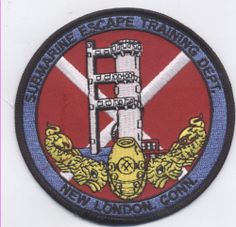 Submarine Escape Training Department Patch