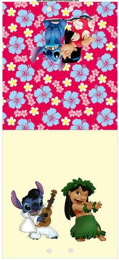Imprimibles de Lilo y Stich 2. | Ideas y material gratis para fiestas y celebraciones Oh My Fiesta!