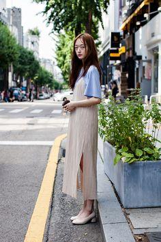 TOP | LARTIGENT DRESS | ZARA Street Style Yoon Yujung, Seoul