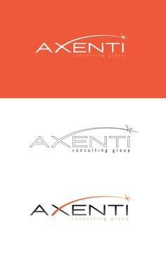 Création du logo Axenti Consulting