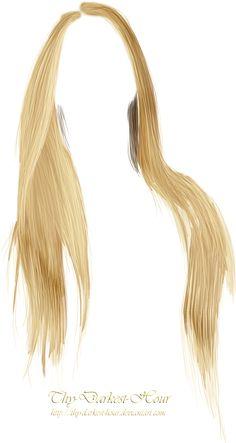 Hair PNG 12 by Thy-Darkest-Hour.deviantart.com on @DeviantArt