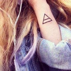 triangle tattoo | Tumblr
