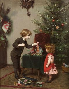 "Felix Ehrlich (German, 1866-1931), ""Christmas"""