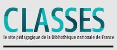 """La BNF présente """"Classes"""", un site de ressources pédagogiques composé de dossiers culturels."""
