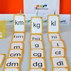 """""""Escalera de medida"""". Baraja del sistema métrico decimal para que niños de 8 a 10 años interioricen las relaciones entre las unidades de medida. ¡Lista para jugar por 10,61€! Measurement Activities, Teaching Activities, Learning Resources, Kids Learning, Math 5, Math Games, Third Grade Math, Decimal, Diy For Kids"""