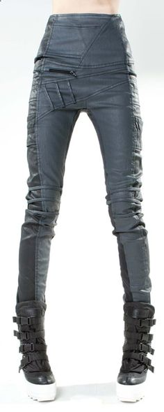 Apocalypse fashion - Jean Leggins Baggy Speed par Demobaza