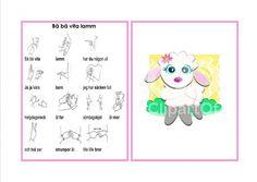 Mariaslekrum - Illustrerade sångkort med tecken Study Tips, Preschool, Fictional Characters, Musik, Communication, Pictures, Kid Garden, Kindergarten, Fantasy Characters