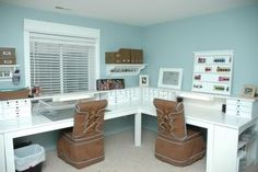 Scrap Room Furniture | Craft Room on Silver Home Office Craft Room Alternate Title Cursing ...