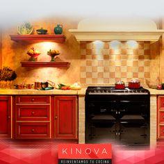 Cocinas rústicas que nunca pasarán de moda por su estilo único de madera.