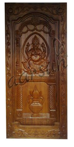 Aarsun present a handmade wooden door made from teak wood. For any query you can call us Front Door Design Wood, Main Door Design, Wooden Door Design, Tv Wall Design, Wooden Doors, 30x50 House Plans, Wood Carving Designs, Teak Wood, Handmade Wooden