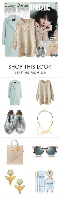 """""""Untitled #2808"""" by helena99 ❤ liked on Polyvore featuring INDIE HAIR, Tara Jarmon, John Fluevog, Lanvin, Sophie Hulme, Fendi, Tiffany Chou, Marc Jacobs, sweaters and chunkyknit"""