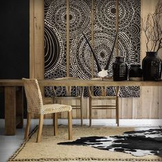 4 Precious Cool Tips: Dining Furniture Design Home dining furniture ideas chandeliers. African Interior Design, Ethnic Decor, Tribal Decor, Outdoor Dining Furniture, Kitchen Furniture, Dining Decor, African Home Decor, Furniture Makeover, Furniture Ideas