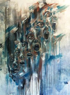 "Artist :Antoine Stevens ""Piscine Molitor ""Under the Wave Outdoor Art, Outdoor Travel, Depression Art, Collages, A Level Art, Identity Art, Portrait Art, Dark Art, Art Lessons"