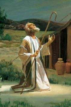 Abram by Harry Anderson Bible Images, Bible Pictures, Jesus Pictures, Religious Paintings, Islamic Paintings, Religious Art, Lds Art, Bible Art, Harry Anderson