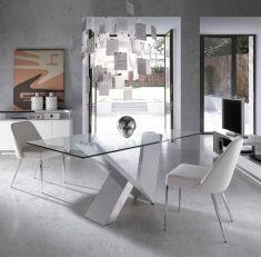Resultado de imagen para mesas de comedor modernas de cristal ...