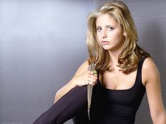 I got: Buffy Summers (Buffy the Vampire Slayer)! Which sci-fi hero are you?