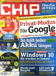 Die neue CHIP am 17. November 2014