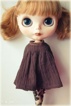 Because I don't have girls.....I know nothing of this Blythe doll.....I think I like them