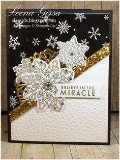 A La Cards: Winter Wonderland Sneak Peek and XL Pillow Box How-to Video