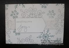 Gift card envelope design using new Gift Card Thinlits die and Endless Wishes stamp set from Stampin' Up!  http://traceyelsom.stampinup.net