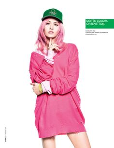 United Colors of Benetton Spring 2013  Charlotte Free photographed by Giulio Rustichelli.