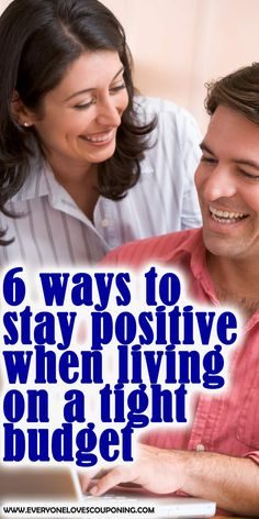 6 Ways to Stay Positive When Living on a Tight Budget Living On A Budget, Frugal Living Tips, Couponing For Beginners, Household Budget, Tight Budget, Budgeting Tips, Staying Positive, Money Matters, Ways To Save Money